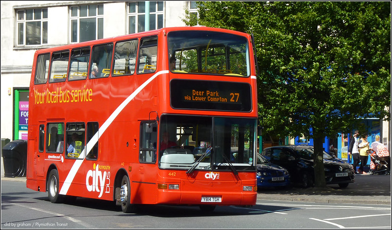 Plymouth Citybus 442 10 July 2014