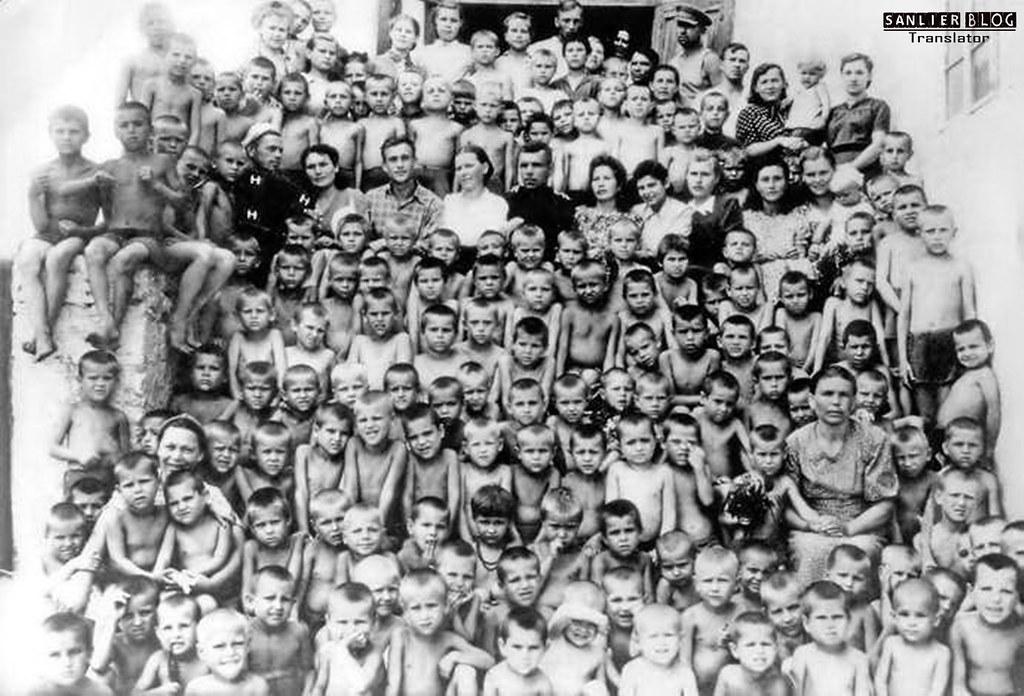 伟大卫国战争中的儿童78
