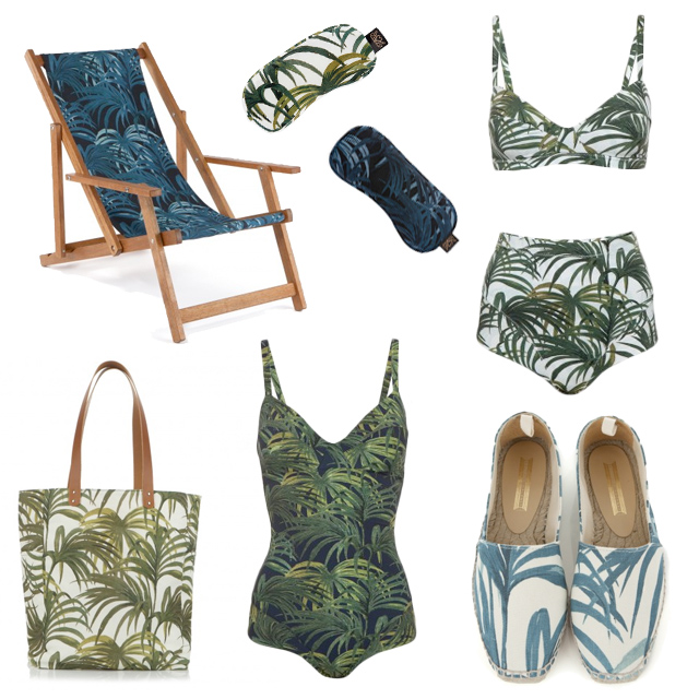 house of hackney palm print summer 2014 holiday
