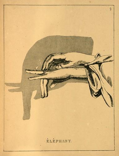 007- El elefante-Ombromanie. Premièr série-1860- The Art Walters Museum