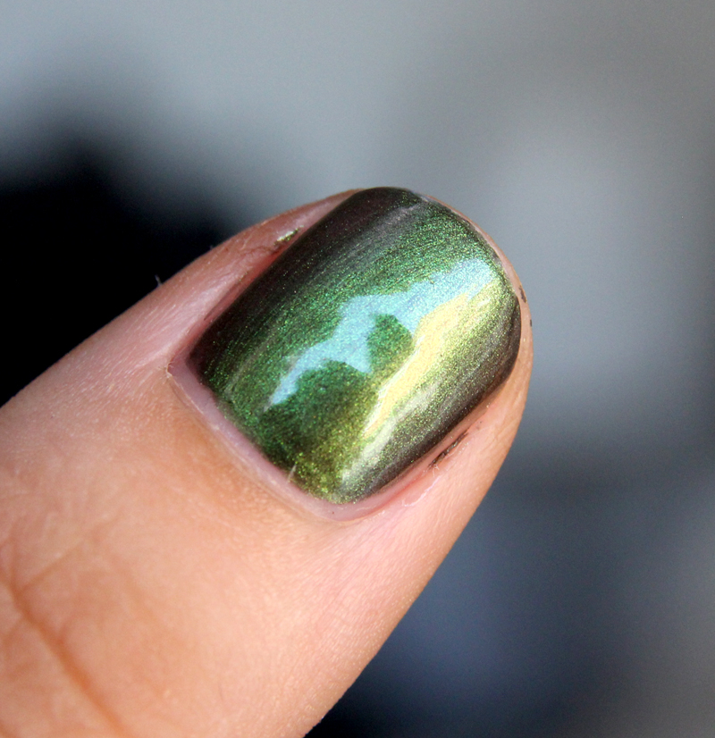 OPI Green on the runway2