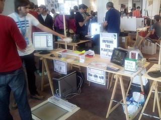 El proyecto The Open Shoes, presentado en la Maker Faire de Bilbao.