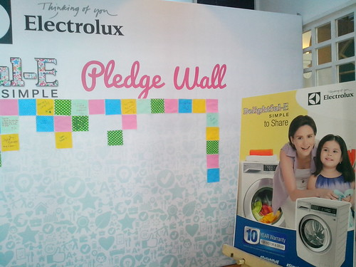Electrolux SimpleToShare campaign media launch