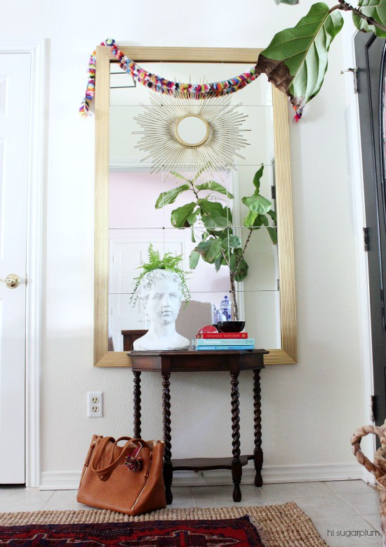 Hi Sugarplum | Layers of an Entrance Hall