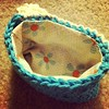 Little #crochet bag- inside