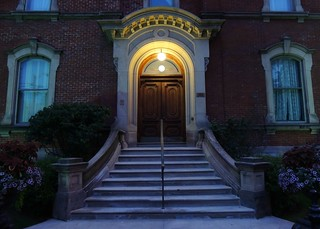 Blue Hour Grand Entranceway & Stairs Of George Brown House .... Toronto, Ontario