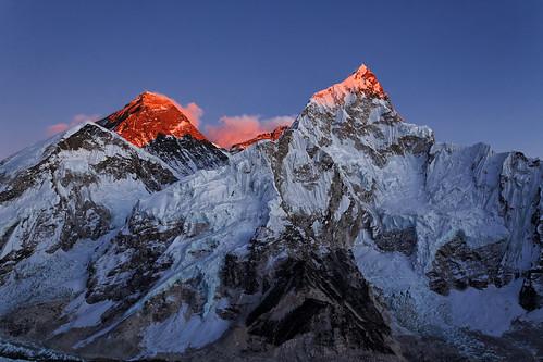 nepal sunset snow sunny everest pwwinter