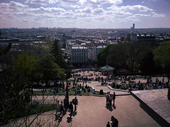 Sacré-coeur vantage point