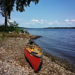Afternoon delight. #paddle #vermont #lakechamplain #islandvibes