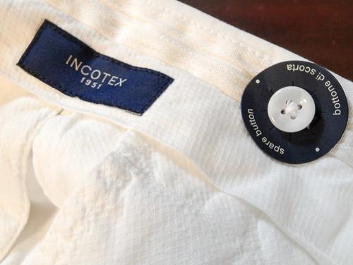 INCOTEX J35 White