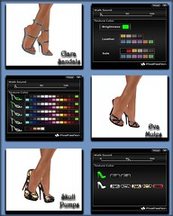 Pixelfashion - Clara-Eva-Skull Pumps