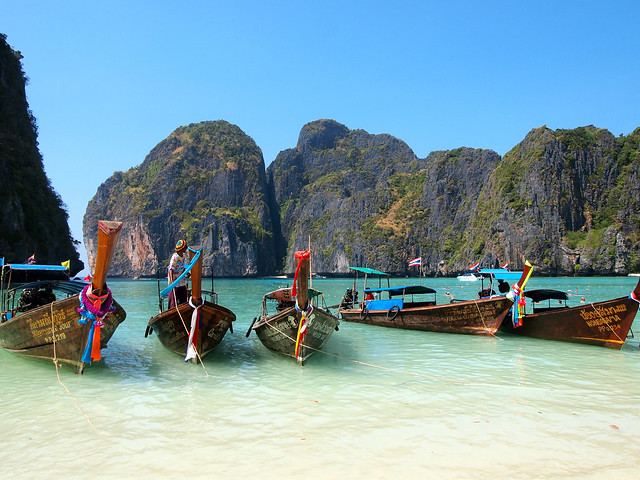 Maya Bay in Thailand