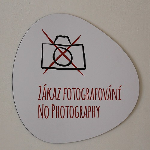 """No photography"""