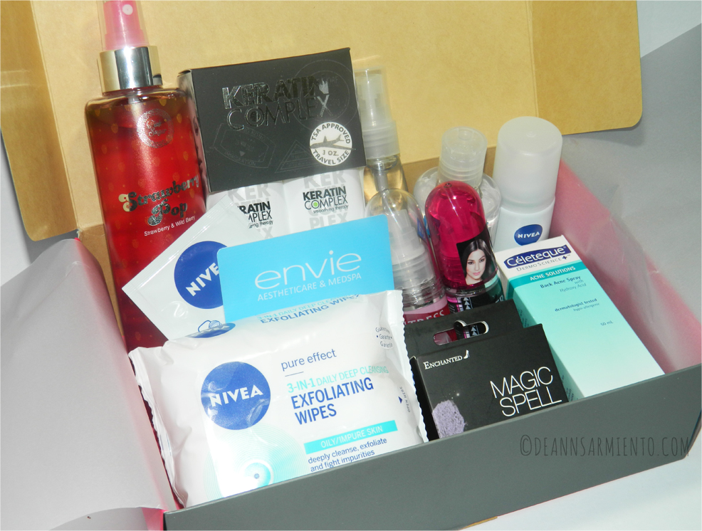 Unboxing July BDJBox 2014 Pure and Simple Contents