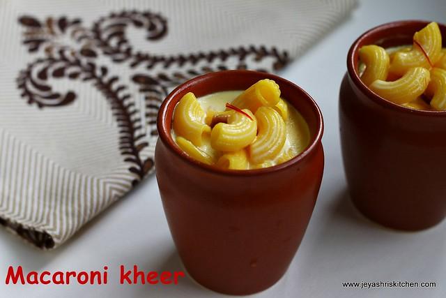 Pasta-Kheer