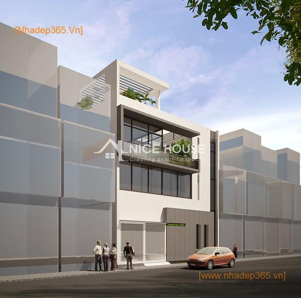 Thiết kế nhà phố Anh Vũ - Hà Đông_05
