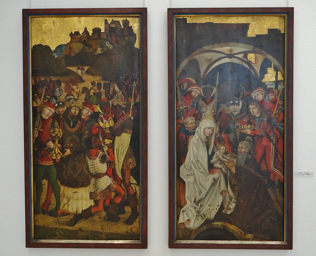 ca. 1480 - 'Adoration of the Magi', Schwaben, Schlosskapelle, Harburg, Germanisches Nationalmuseum, Nürnberg, Bayern, Germany