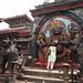 Hindu demon statue