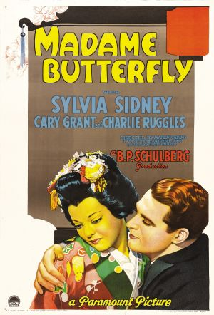 Madame Butterfly (1932) poster