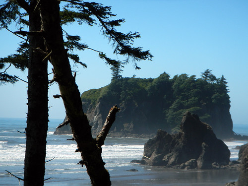 Sea Stacks at Ruby Beach in the Olympic National Park
