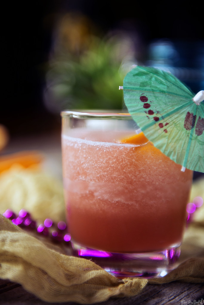 Frozen Rum Runner Cocktails