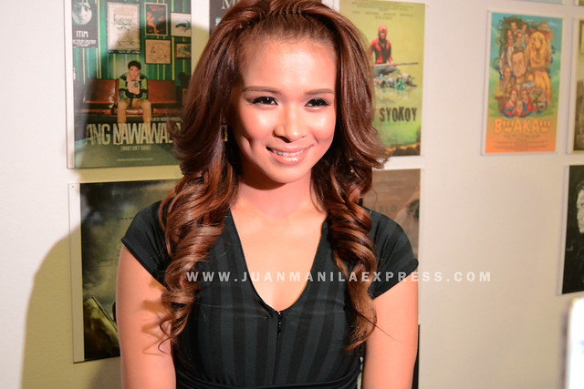 KAPUSO ACTRESS LJ REYES. LJ plays the wife of Dennis Trillo in The Janitor.