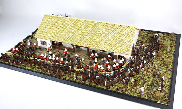 Battle of Rorke's Drift, Jan 22, 1879, Main Overview