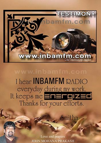 INBAM FM RADIO TESTIMONY