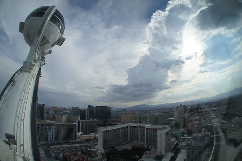 View from the High Roller Ferris Wheel, Las Vegas