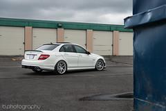 C63 on HRE wheels