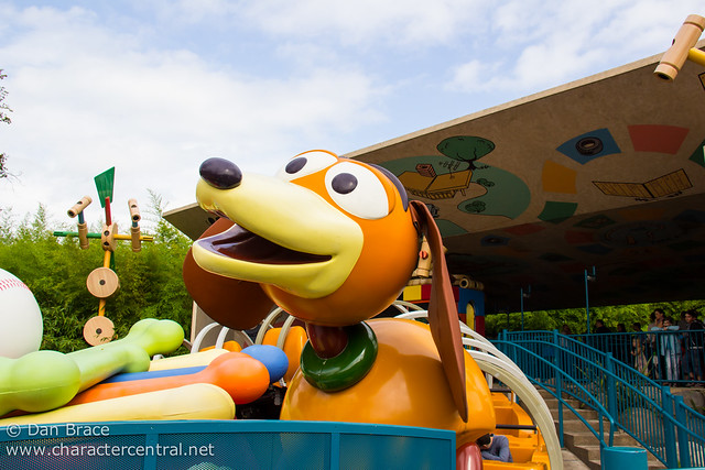 Wandering thru Toy Story Playland