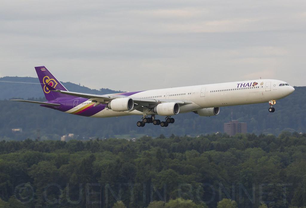 Thai Airways International Airbus A340-642 HS-TNA