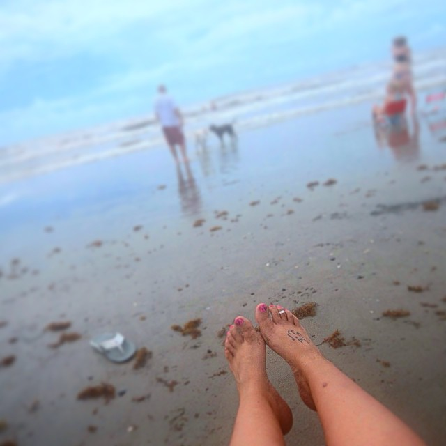 """""""I got my toes in the water..."""""""
