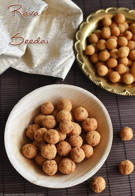 Rava Seedai Recipe