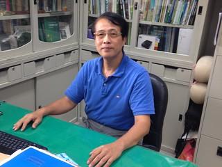 台灣水青岡研究學者陳子英。