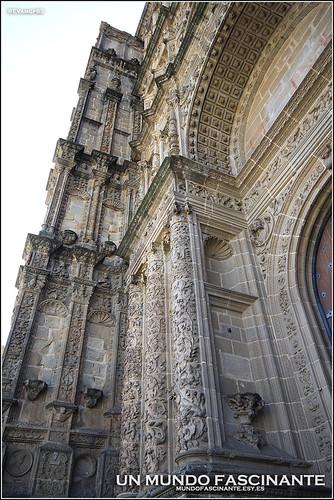 Detalle Portada Catedral Plasencia