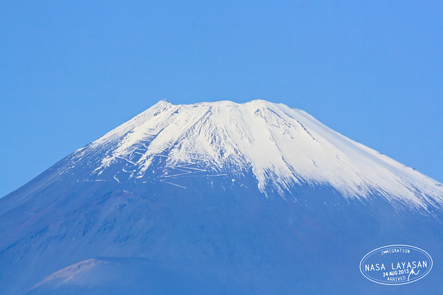 Fujisan in November