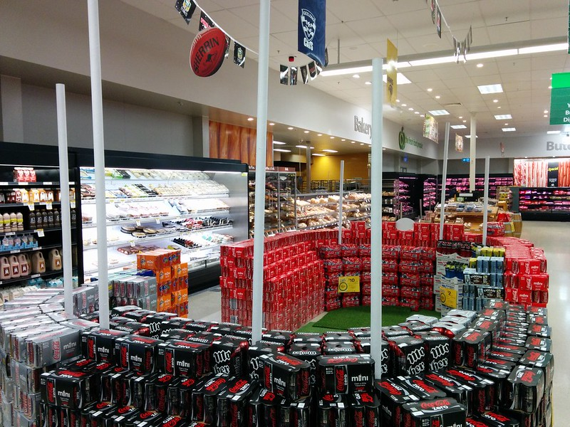 Spotted at South Oakleigh Woolies: grocery tribute to Aussie
