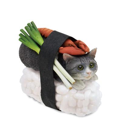 奇譚俱樂部 貓壽司喵太 立體轉蛋
