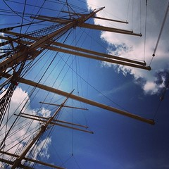 Mast and #lines #sky and #clouds #streetphotography #vagabond