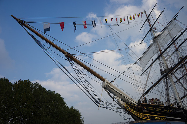 Tall Ships Festival on the Thames