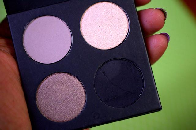 Haughty Cosmetics  eyeshadow palette