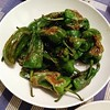 These Padron peppers were ridiculous. About 2/3 of them were almost inedibly hot!