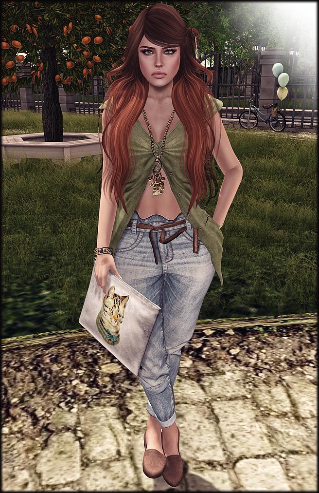 Redhead sun