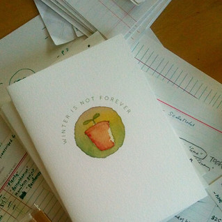 MIEL stationery for autumn 2014