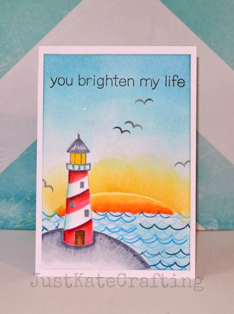 You brighten my life