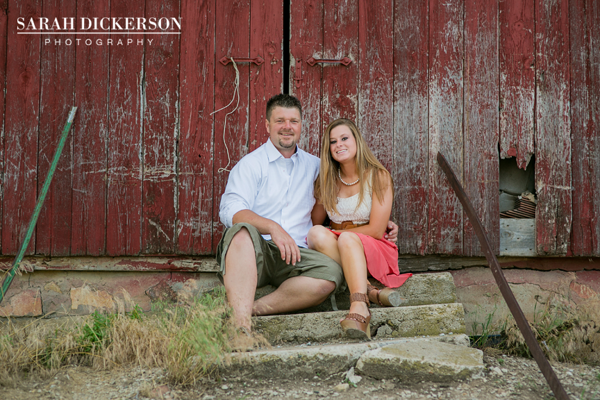 Atchison Kansas engagement session