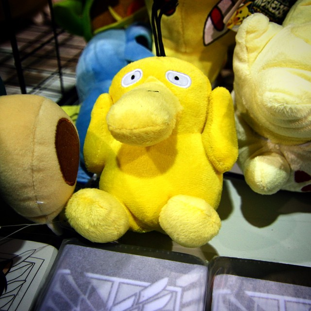 When We Were Kids, My Cousins Use To Call Me Psyduck Because I Would Always Get Headaches #ChicagoComicCon #C3