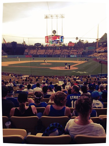 Dodger Stadium, lower level
