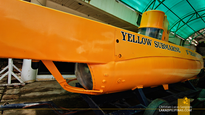 Yellow Submarine at Vigan's Baluarte